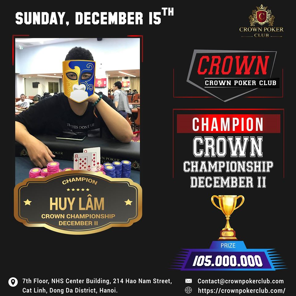 Crown Poker Tournament