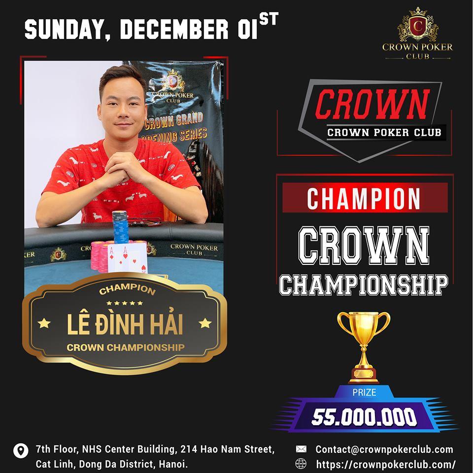 Crown Poker Tournament
